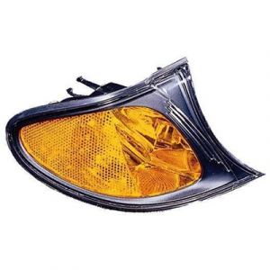 BMW BMW 3 ( i/xi ) (SD/WG) CORNER LAMP RIGHT (AMBER SIGNAL W/BLK BASE)**NSF** OEM#63137165860 2002-2005
