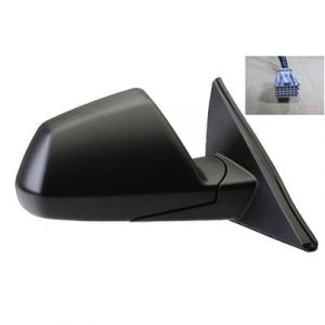 CADILLAC CTS SD 08-13/CTS-V SD DOOR MIRROR RIGHT PWR HTD (W/MEMORY) CNVX OEM#25828085 2008-2014 PL#GM1321404