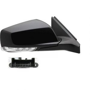 BUICK LACROSSE DOOR MIRROR RIGHT PWR/HTD/SIGNAL/PUDDLE (WO/SIDE SENSOR) OEM#22857518 2010-2013 PL#GM1321424